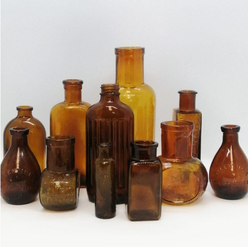 Brown Medicine Bottles