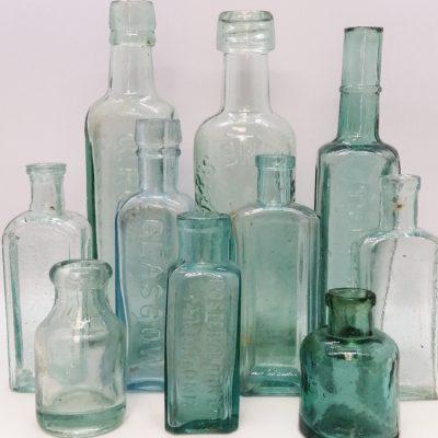 Tinted Medicine Bottles