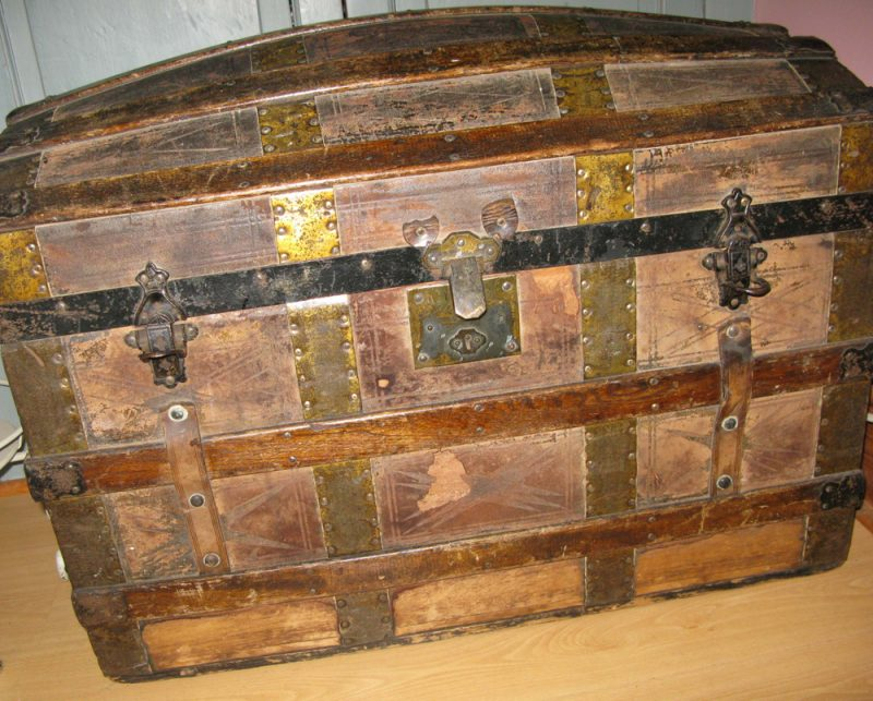 Wooden Pirate Chest