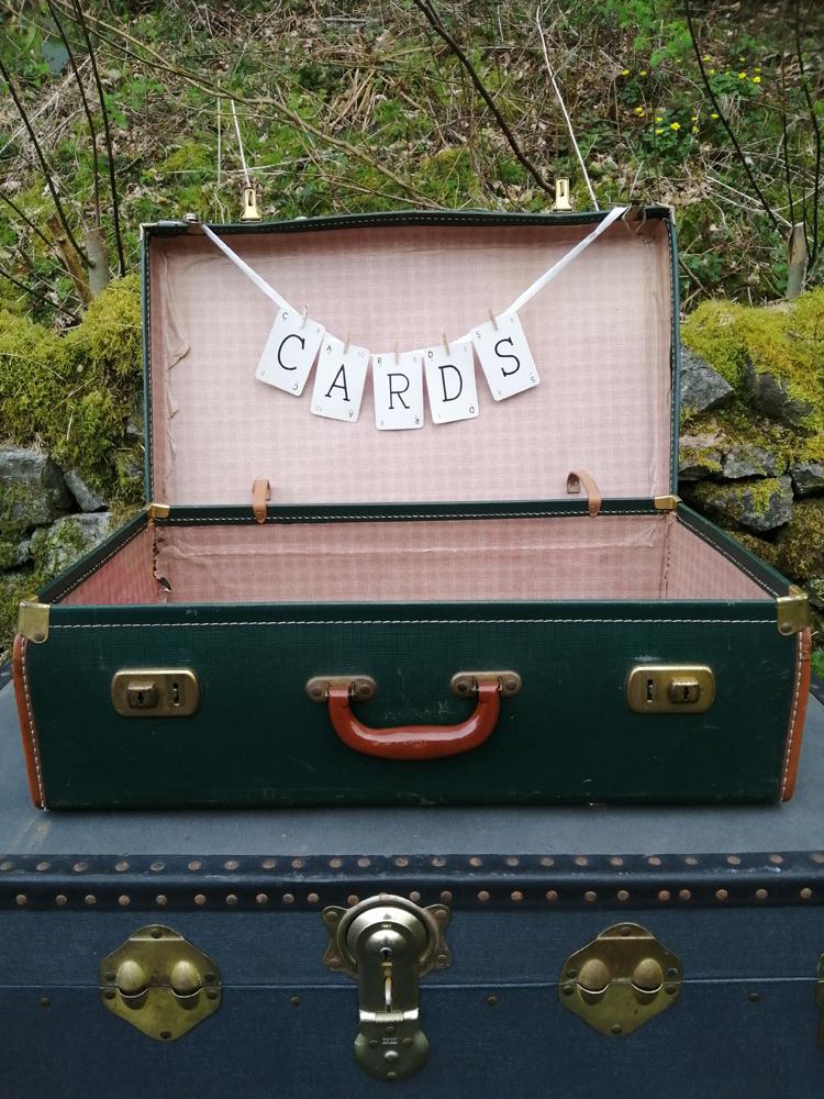 Dark Green Suitcase