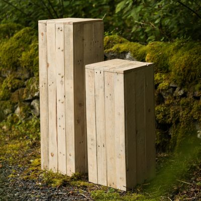 Large Wooden Plinth