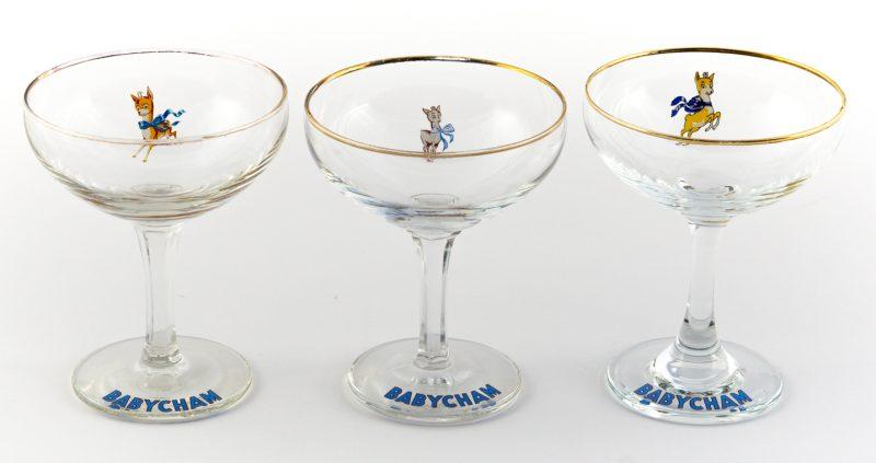 Babycham glass