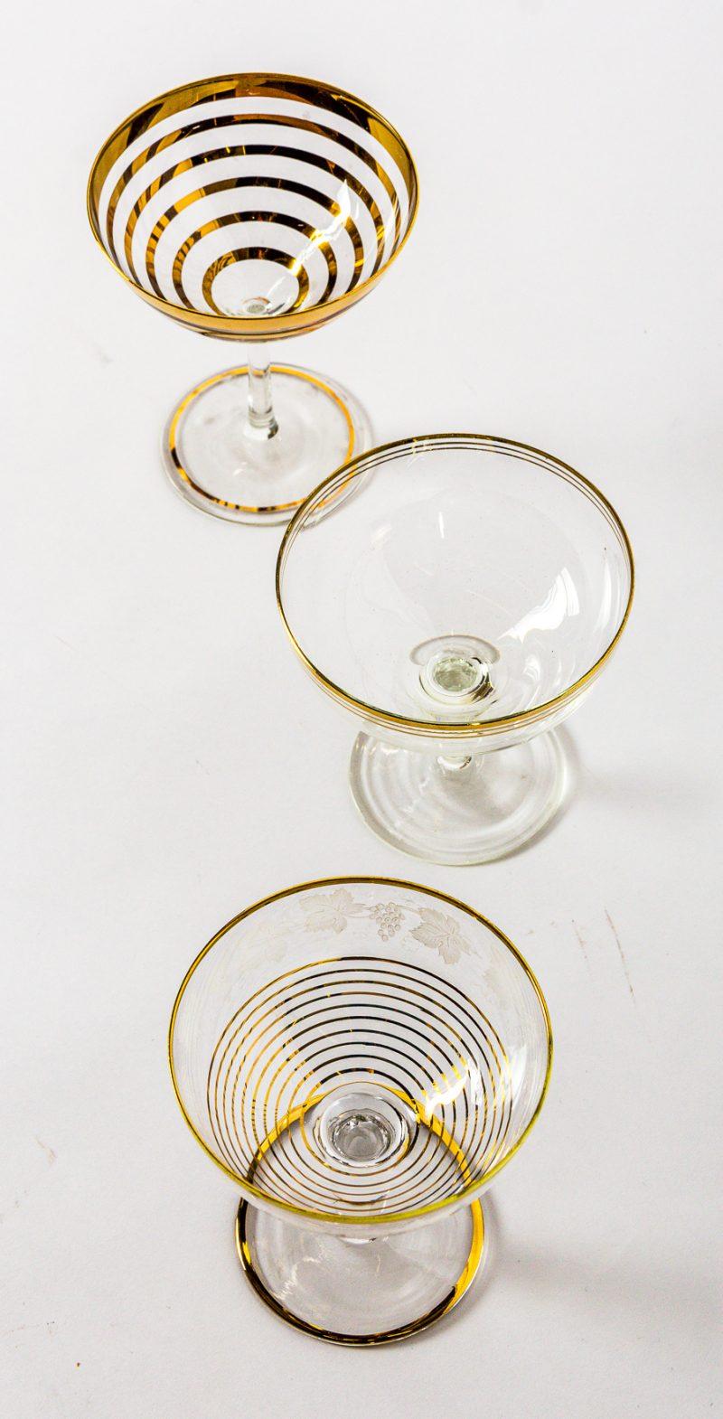 Vintage Champagne Saucer