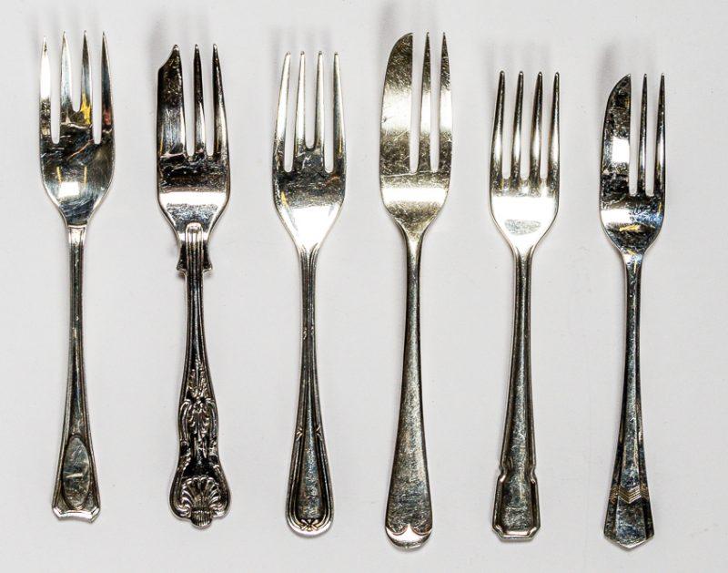 Vintage Cake Forks