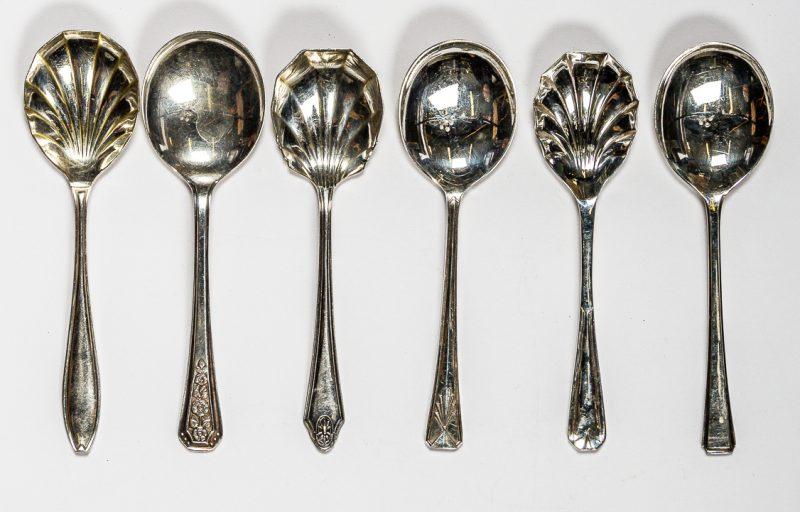 Small Vintage Dessert Spoons
